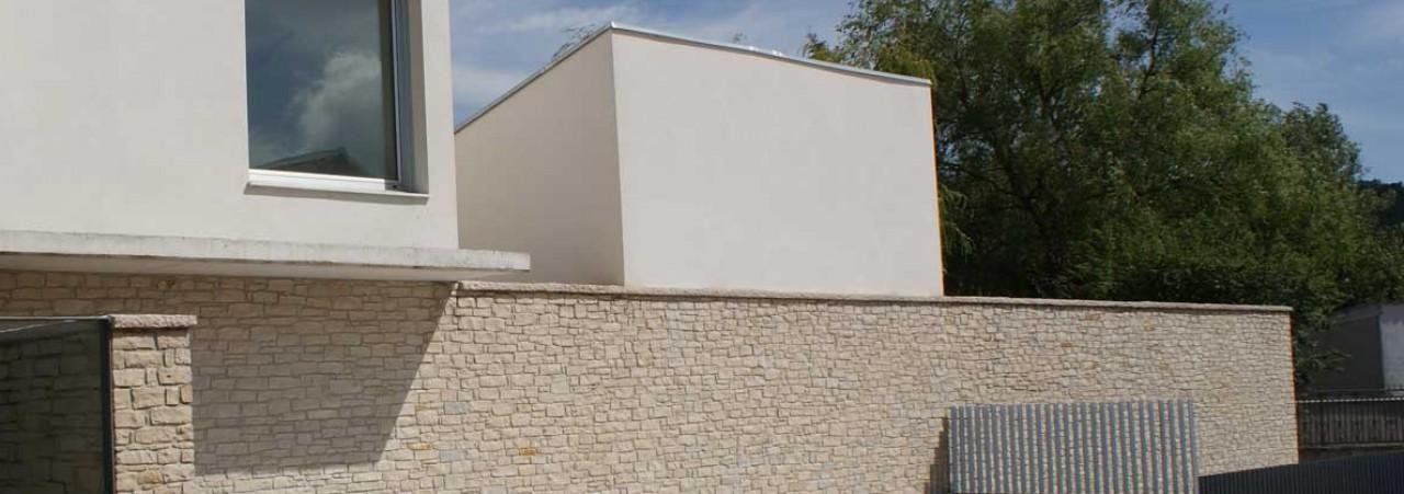Trabajos y otro tipo de construcciones realizados en - Tipos de piedras para fachadas ...